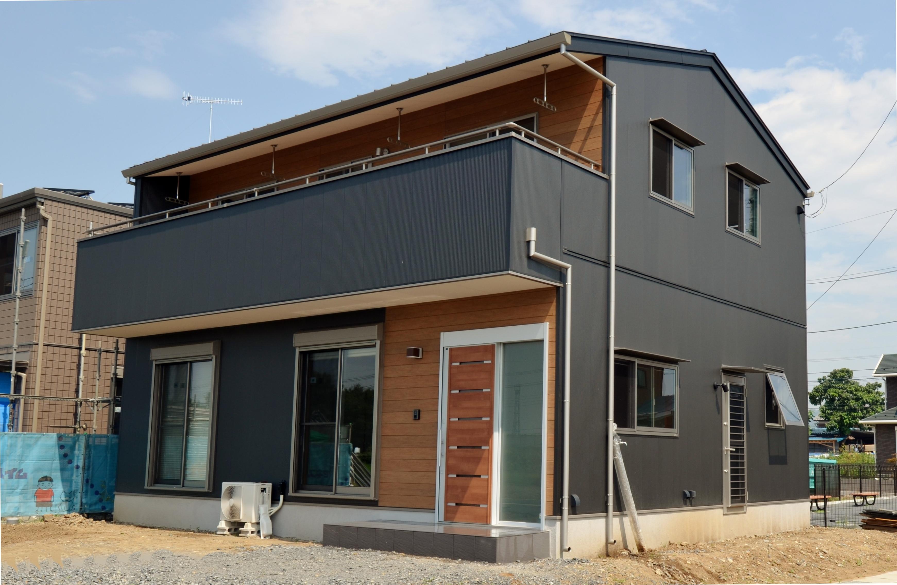 佐野市の土間のある家