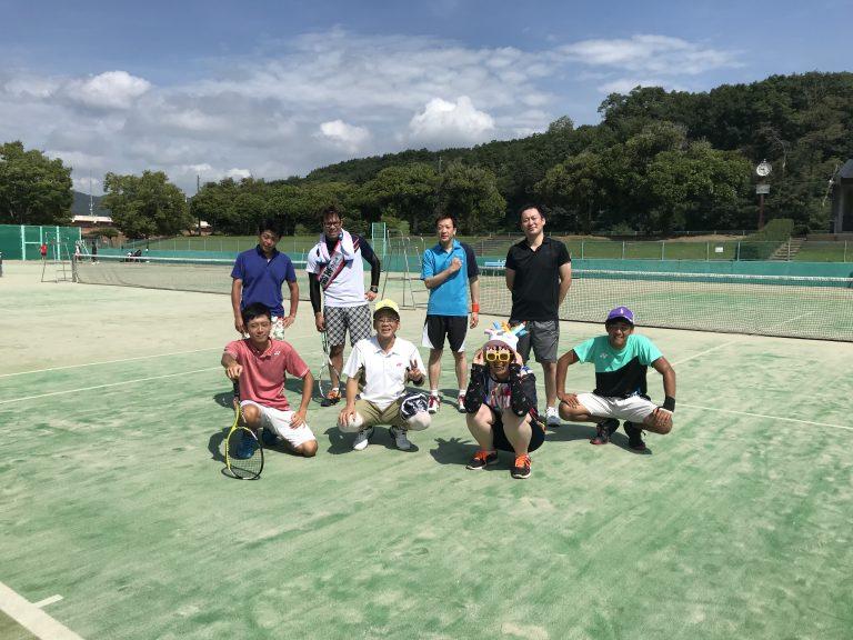 テニス練習~暑かったです・・