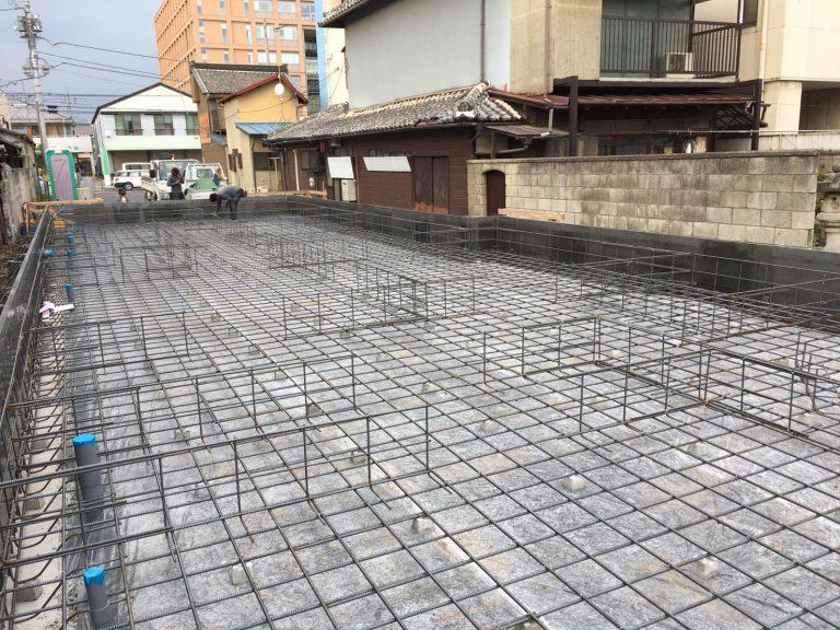 佐野市高砂町のK様邸鉄筋検査合格おめでとうございます。