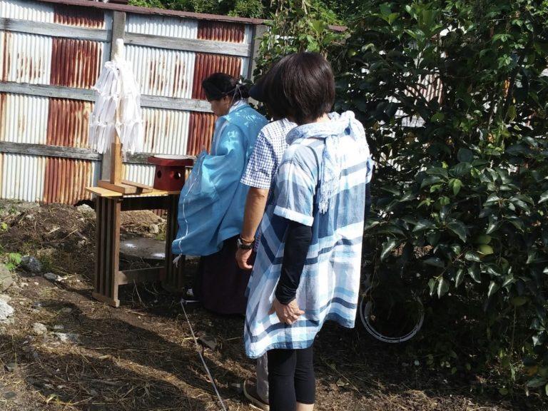 佐野市大祝町K様地鎮祭おめでとうございます。🎊