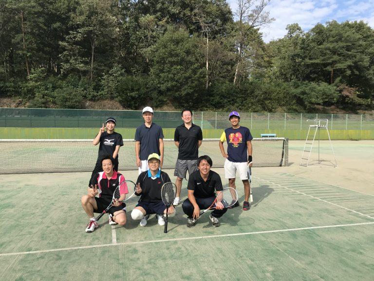 今日は、打ち合わせとテニス練習会でした。