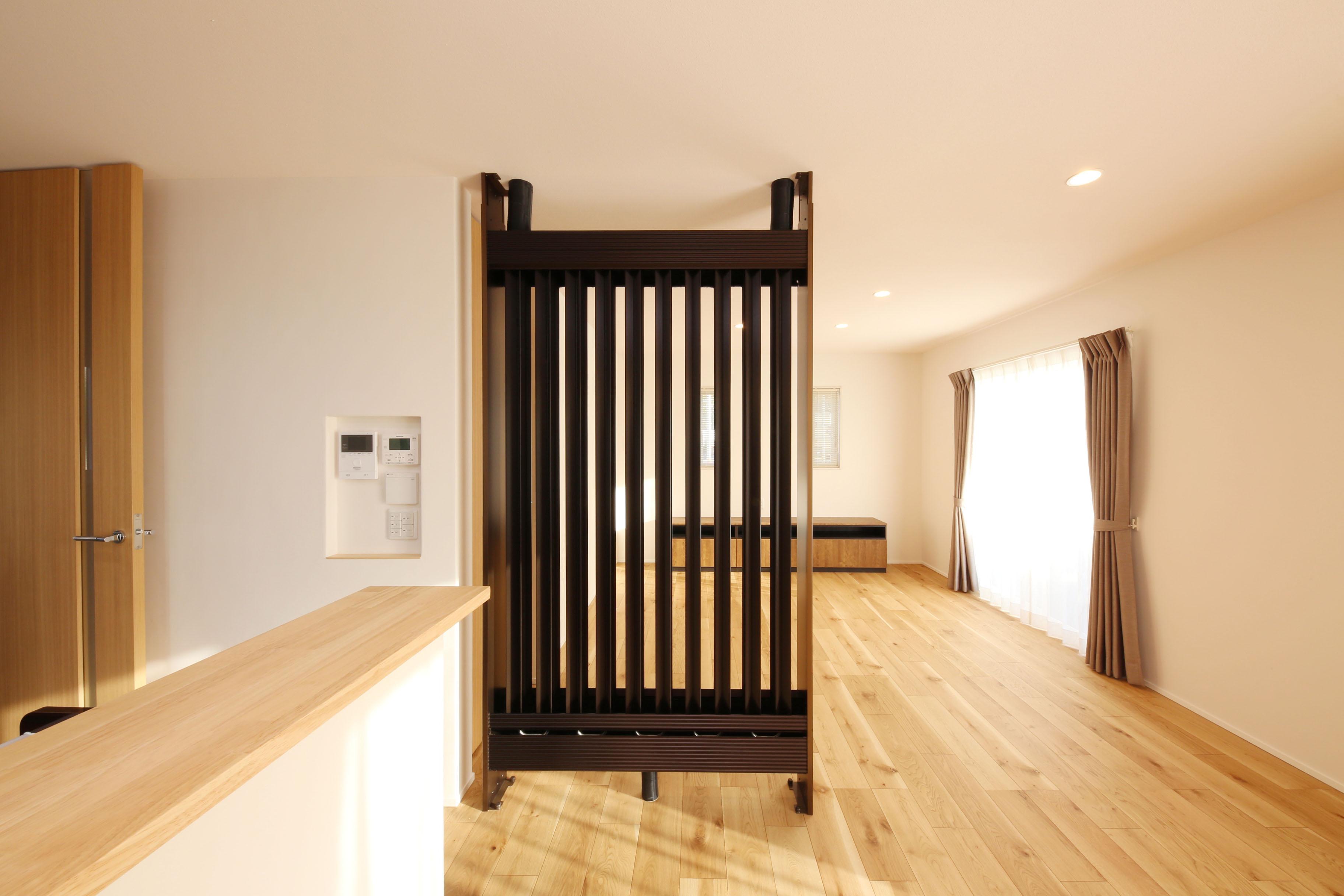 注文住宅 リビング 光冷暖システム