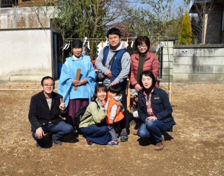 佐野市堀米町N様地鎮祭おめでとうございます。