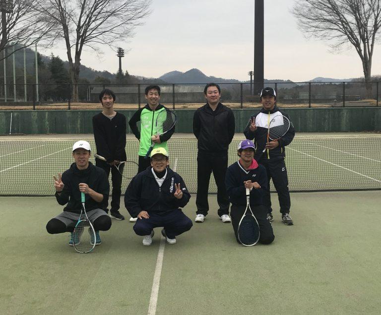 午前中は、ソフトテニス練習会でした。