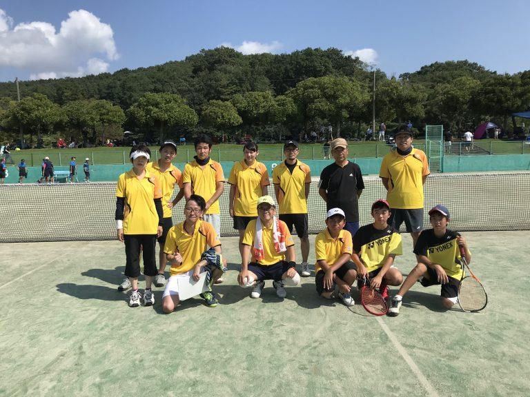 今日は、暑い中市民体育祭(ソフトテニス)参加してきました。