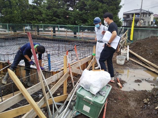 佐野市栃本町N様邸鉄筋検査合格です。おめでとうございます。