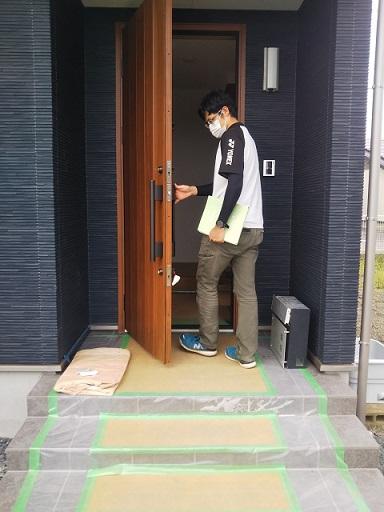 佐野市田島町S様完了検査合格です。
